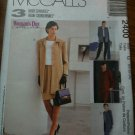 McCall's 2400 Misses' Unlined Jacket in Two Lengths, Top, Pull-on Pants and Skirt Size F 16-18-20