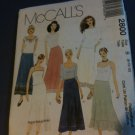 McCall's 2800 Misses' Skirts Size E 14-16-18