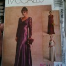 McCall's 2602 Misses' Gowns Size C 10-12-14