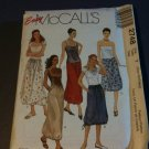 McCall's 2748 Misses' Skirts in Two Lengths Size Y XSM-SM-Mm