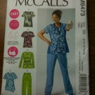 NEW McCall's 6473 Misses' and Women's Tops and Pants Size B5 (8-10-12-14-16)