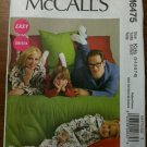 NEW McCall's 6475 Misses'/Men's/Children's Jumpsuit and Detachable Booties Size Kids