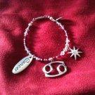 Swarovski Crystal Cancer Bracelet