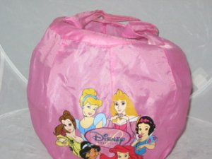 Disney Princess Pink Party Basket Cinderella Belle
