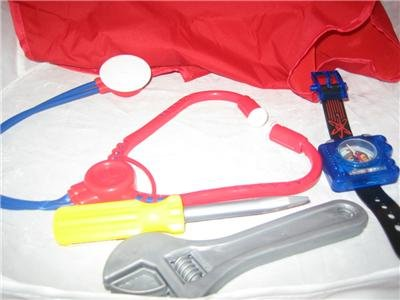 Tool Set Wrench Screwdriver Jimmy Neutron Compass Toys