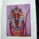 10 Original Art Blank Note Greeting Cards / Envelopes Set KING TUT DACHSHUND DOG