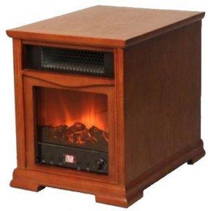 Brand New 1500W Fireplace Style Infrared Quartz Heater
