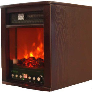 NEW 1500W Fireplace Style Infrared Quartz Heater