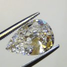 PEAR CUT RUSSIAN LAB DIAMOND 6.5 X 4.5 MM