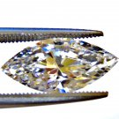 2.0CT MARQUISE CUT RUSSIAN LAB DIAMOND 12 X 6MM