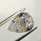 PEAR CUT RUSSIAN LAB DIAMOND 11 X 7.5 MM