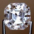 1.0 CT ASSCHER RUSSIAN LAB DIAMOND SIM 5.5 X 5.5MM