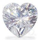 HEART CUT RUSSIAN LAB DIAMOND 11 MM X 11 MM