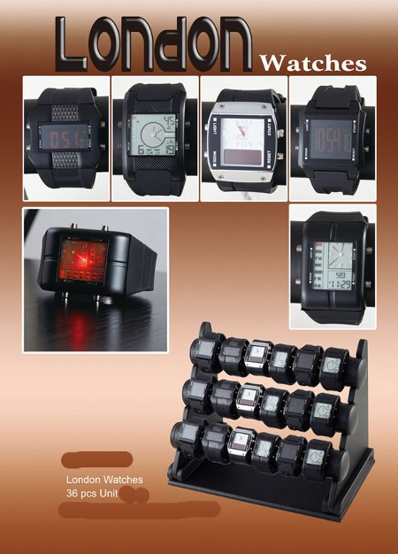 Rowans watch collection x 36
