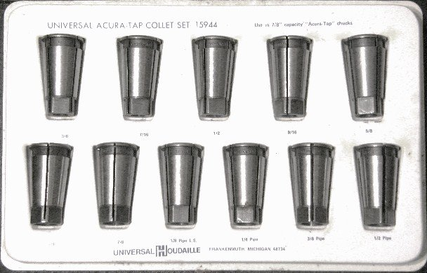 Tapping Collet Set