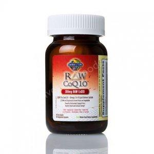 Garden of Life Raw CoQ10 200 mg 60 Veg Capsules
