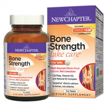 New Chapter Bone Strength Take Care Tiny Tabs 240 tabs LOWEST PRICE Free Shipping
