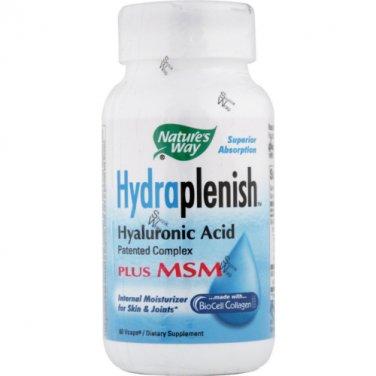 2 x Natures Way Hydraplenish + MSM 60 vcaps