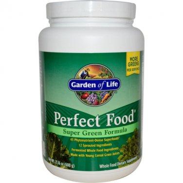 Garden of Life Perfect Food Super Green Formula, 150 Caplets