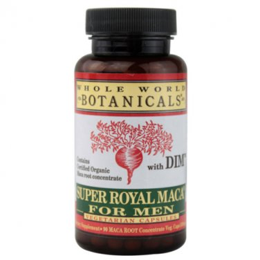 Whole World Botanicals Super Royal Maca Men 90 Veg Caps LOWEST PRICE FREE SHIP