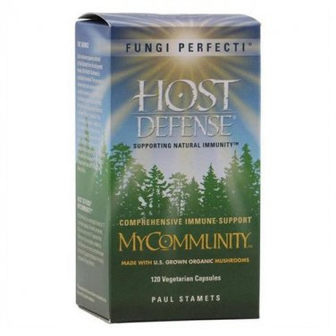 Host Defense MyCommunity 120 Capsules LOWEST PRICE Free Shipping Fungi Perfecti