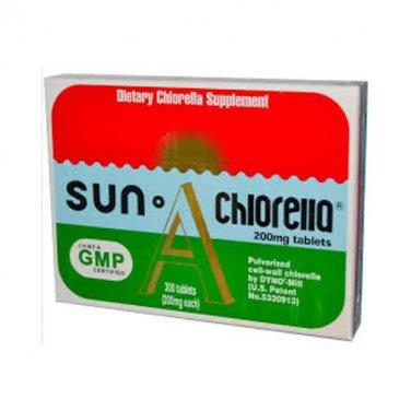 Sun Chlorella Sun Chlorella A 200 mg 300 Tablets LOWEST PRICE Free Shipping