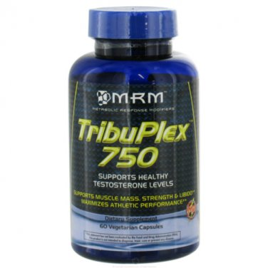MRM TribuPlex 750-Natural Testosterone Booster, 60 c (2 Pack)
