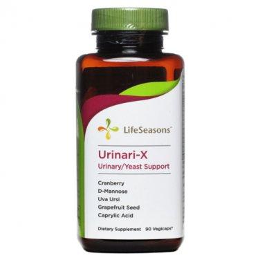 LifeSeasons Urinari-X Urinary/Yeast Support 90 Caps