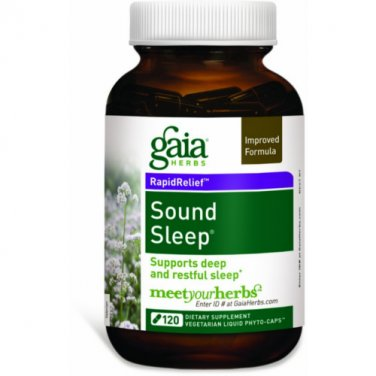 Gaia Herbs Sound Sleep, 120 Caps