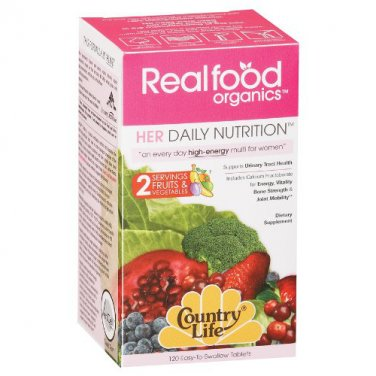 Country Life Women's Daily Nutrition (Her Daily Nutrition), 120-Count