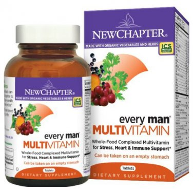 New Chapter Every Man Multivitamin, 120 Tablets