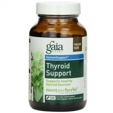 Gaia Herbs Thyroid Support, 120 Liquid Phyto-Capsules