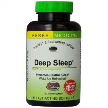 Herbs Etc - Deep Sleep Alcohol Free - 120 Softgels Contains California Poppy