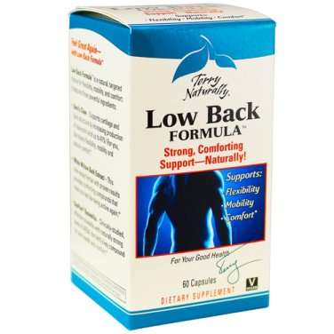 Terry Naturally Low Back Formula, 60 Capsules