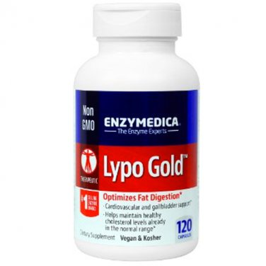 Enzymedica Lypo Gold 60 Capsules LOWEST PRICE Free US Shipping