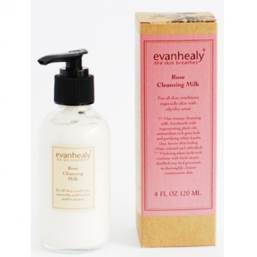 Evan Healy Rose Cleansing Milk 4 oz LOWEST PRICE Free US Shipping