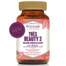 Reserveage Tres Beauty 3 Supplement 90 Count LOWEST PRICE Free US Shipping