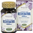 Reserveage Organic Resveratrol 500 Mg 60 Capsules  LOWEST PRICE FREE SHIPPING
