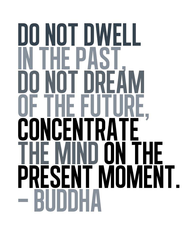 Unisex T-Shirt - Size XL - White - Buddha Present Moment Inspirational Quote T-Shirt