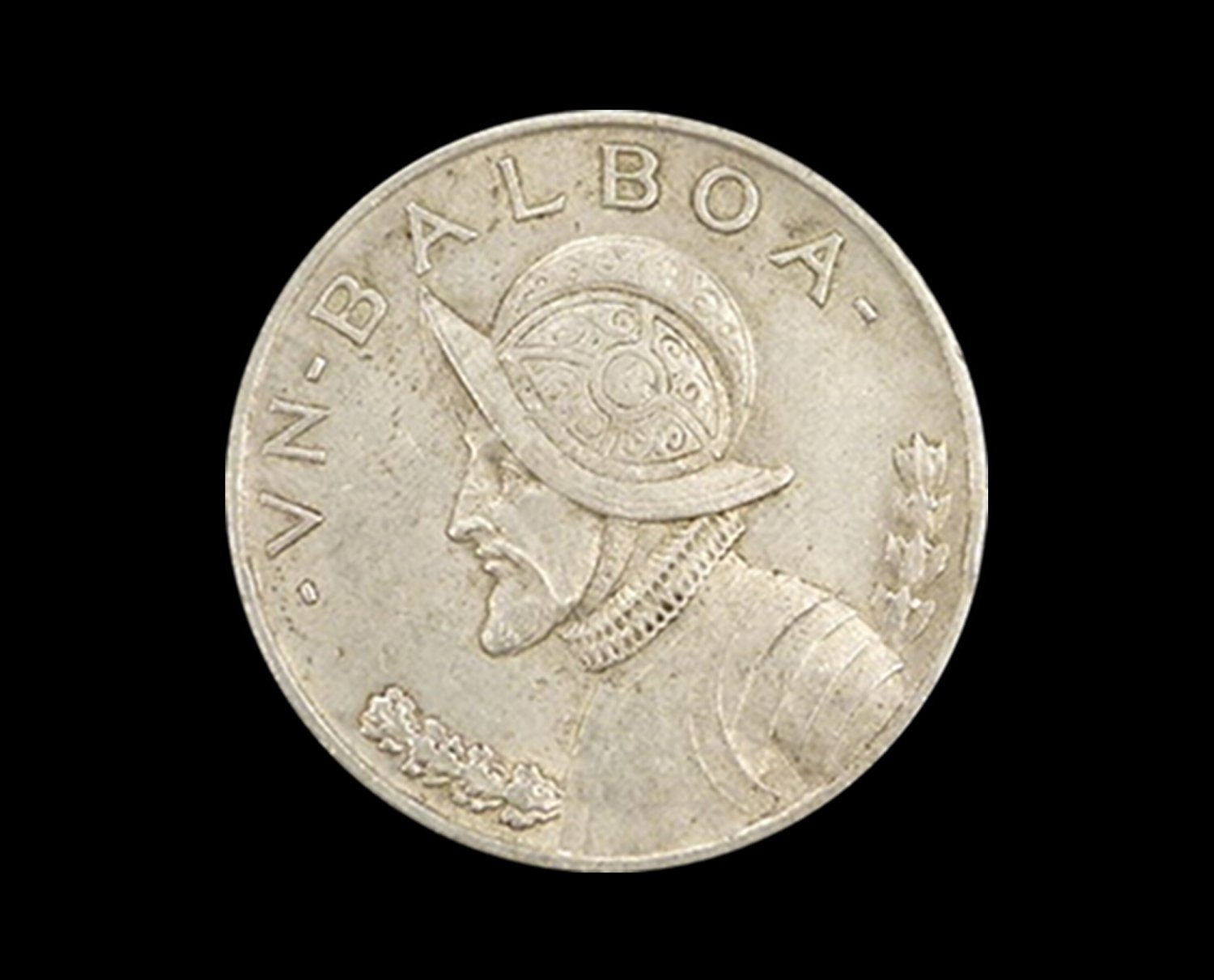 1947 Silver Panamanian Balboa, .900 Fine, .7735 Troy Ounce Actual Silver Weight