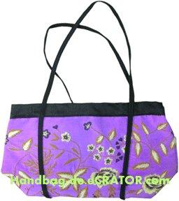 Fun, Trendy and yet Stylish Bag On Silk!