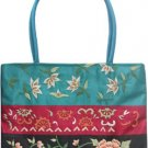 Typical Oriental Style Silk Satin Handbag