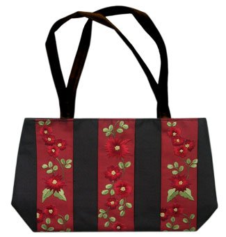 Fabulously hand embroidered bag will fit anything and everything!