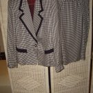 WOMENS HOUNDSTOOTH SUIT