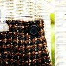Plaid Skirt (Brown)