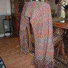 Knit Prayer Shawl lapghan comforter