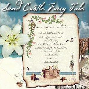 Beach Wedding Invitations Scrolls