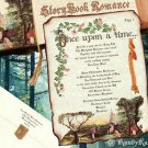 Storybook Scroll Wedding Invitations FairyTale