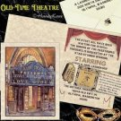 Hollywood Movie Old Theatre Wedding Invitations