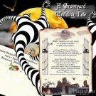 Halloween Wedding Invitations Scrolls & Tickets Package